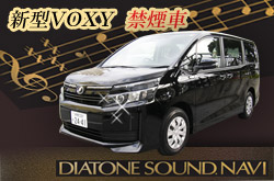 DIATONE SOUND NAVI搭載!新型VOXY  WDクラスの車両写真